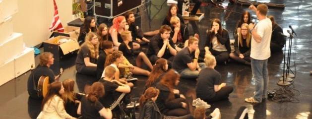 Tag på en musical efterskole i Sønderjylland